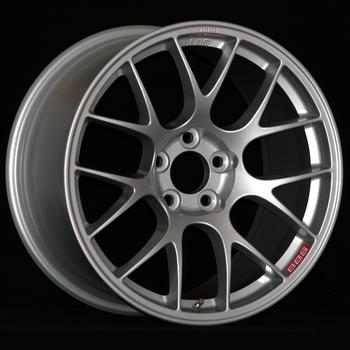 The cast flow-formed race wheels are available in Silver.