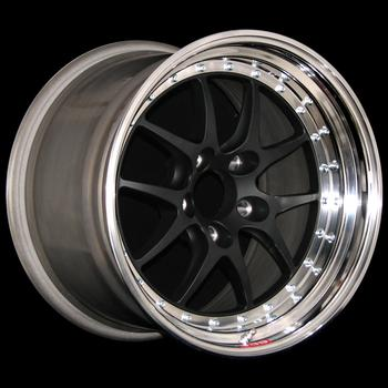 Wheel centers are avaiable in Gold, Silver, Polished or Gloss Black. Polished outer rim.