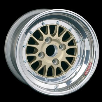 Wheel centers are avaiable in Gold, Silver or Gloss Black. Polished outer rim.