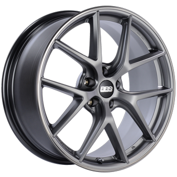 Platinum Silver. Polished stainless steel rim protector.