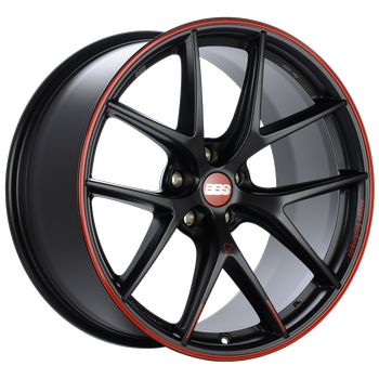 Nürburgring Edition. Satin Black, Red rim protector