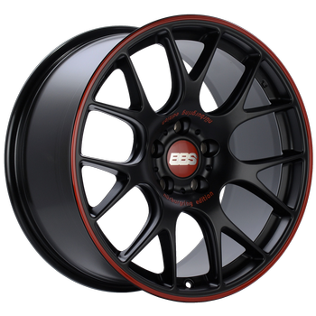 Nürburgring Edition. Satin Black, Red rim protector
